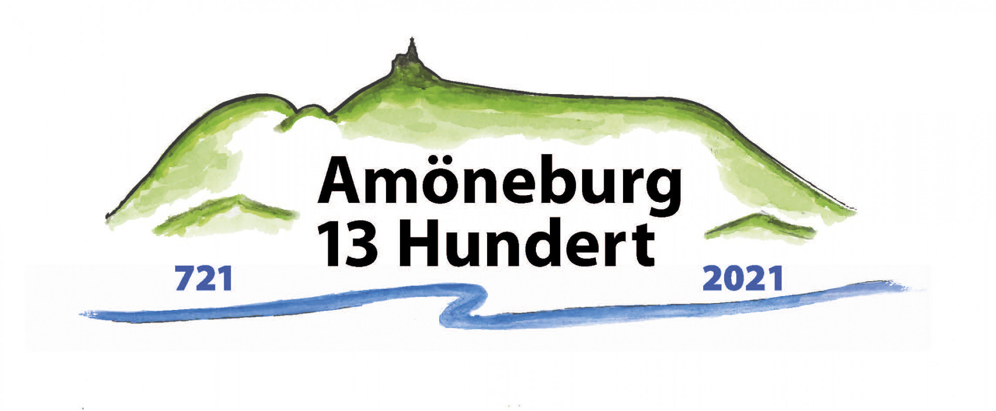 Logo Amöneburg 1300 Jahre